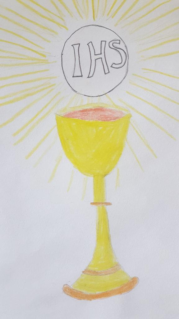 Pascha, Eucharystia, Czyńcie to na moją pamiątkę – oczami dziecka – Karmić się Słowem